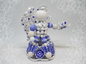 Несколько слов об ангеле Гжелька. Ярмарка Мастеров - ручная работа, handmade.