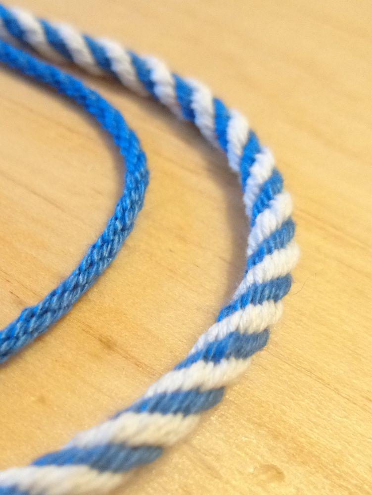 Шнуры для плетения мастер класс