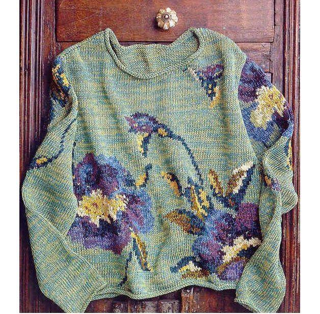 Интарсия — простая техника вязания или целое искусство? Отдельное спасибо автору за схему: вдохновляемся и пробуем!