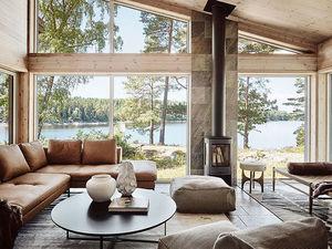 Дом в Швеции: уютная атмосфера с видом на озеро. Ярмарка Мастеров - ручная работа, handmade.
