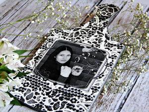 Превращаем разделочную доску в монохромный подарок с фото. Ярмарка Мастеров - ручная работа, handmade.