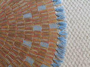Стиль Хюгге и вязаные коврики.. Ярмарка Мастеров - ручная работа, handmade.
