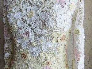 Ирландское кружево. Платье