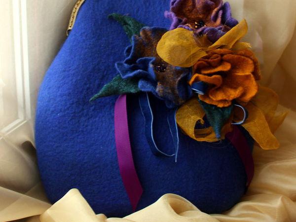Рабочий МК Войлочная сумка | Ярмарка Мастеров - ручная работа, handmade