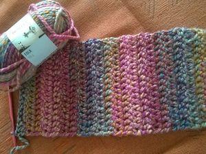 Первый шарф в магазине. Ярмарка Мастеров - ручная работа, handmade.