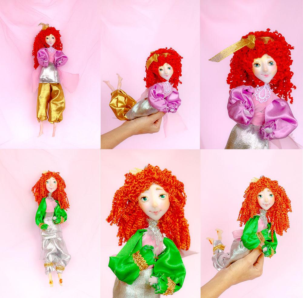 коллекционная кукла, кукла русалка