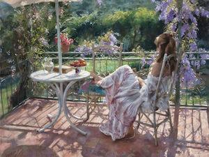 Один день из жизни женщины глазами испанского художника Vicente Romero Redondo. Ярмарка Мастеров - ручная работа, handmade.