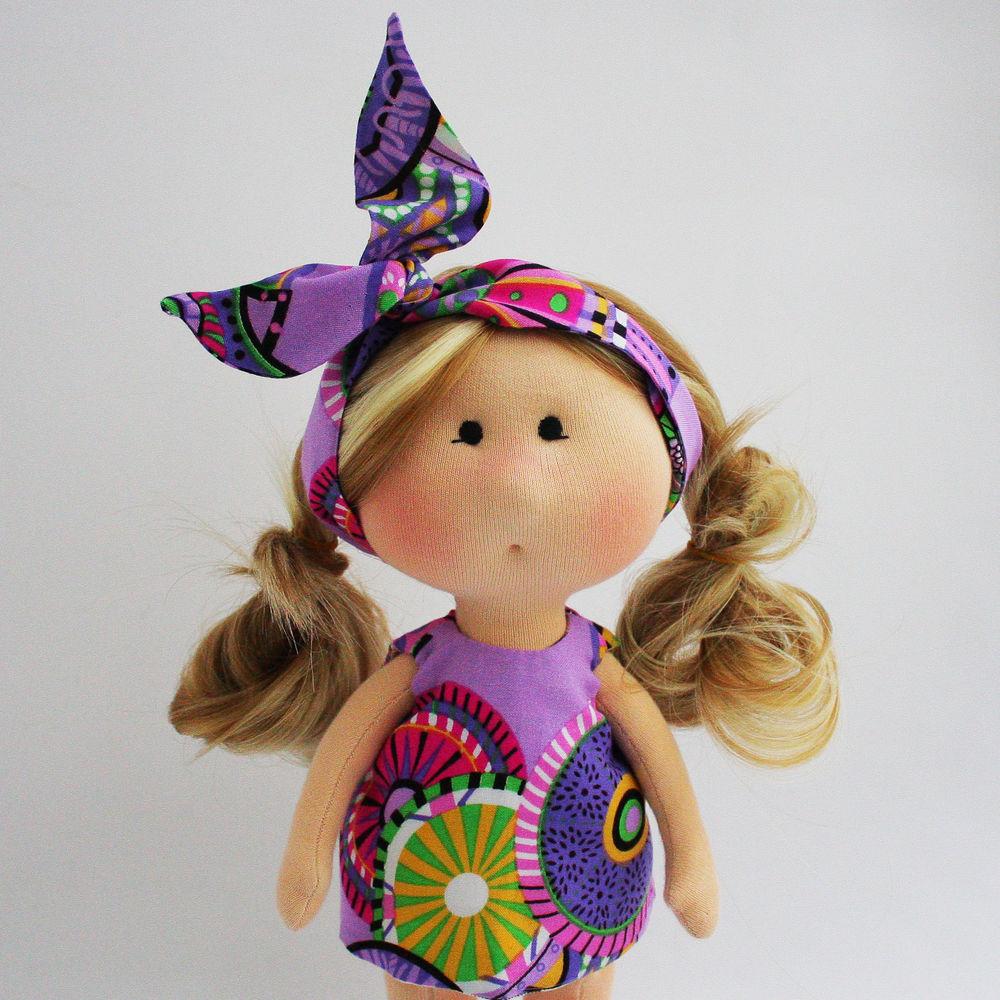 Текстильная игровая кукла., фото № 7
