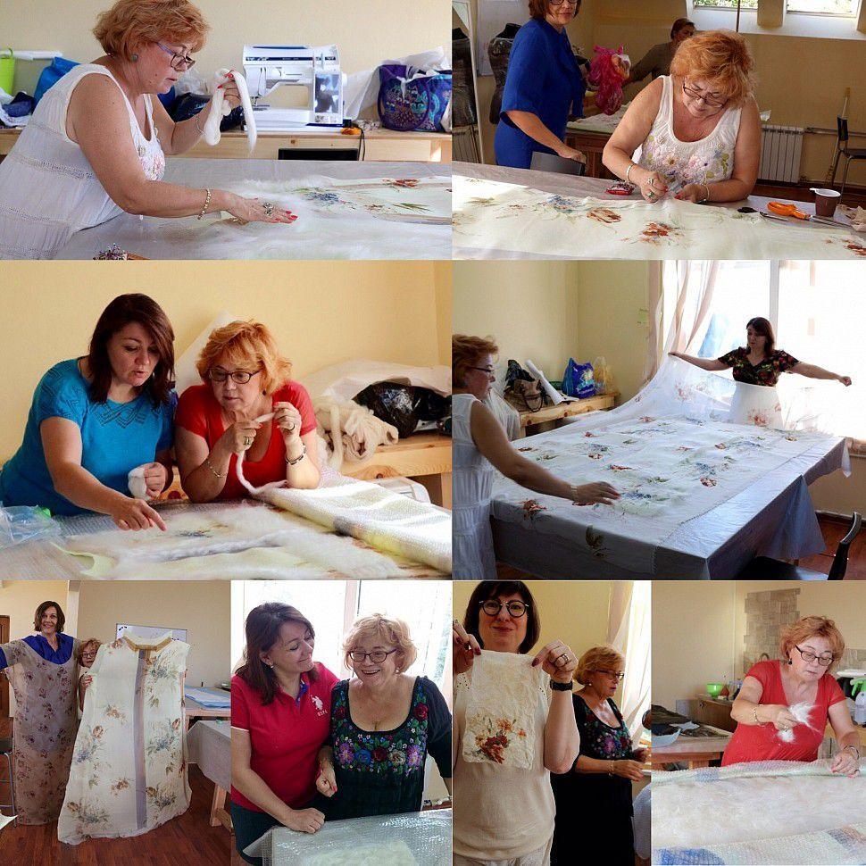 ukrasa, мастерская украса, одежда своими руками, мастер-класс по валянию, валяние для начинающих