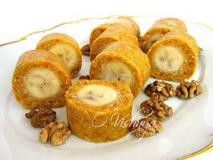 """Вкусно и полезно! Банановые роллы! Печенье """"Улитка""""!. Ярмарка Мастеров - ручная работа, handmade."""