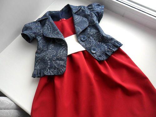 Платье и жакетик, фото № 1