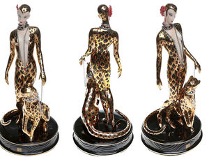 """Роскошный Franklin Mint! Статуэтка """"Леопард"""" в стиле Арт Деко. Ярмарка Мастеров - ручная работа, handmade."""