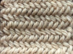 Вяжем красивый и простой узор «елочка» спицами. Ярмарка Мастеров - ручная работа, handmade.