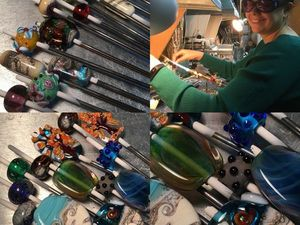 Отчеты об обучении лэмпворку в мастерской Бранзулетка. Ярмарка Мастеров - ручная работа, handmade.
