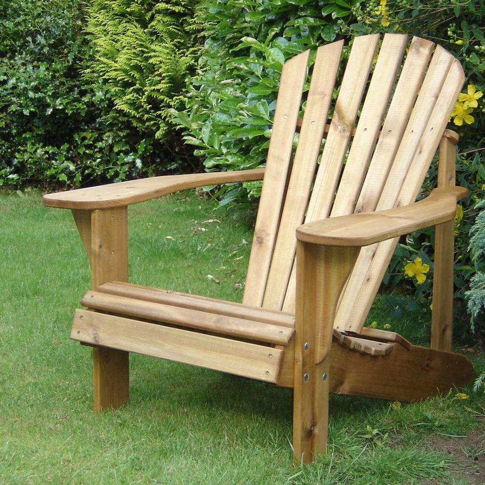 стул адирондак, дачное кресло, мебель для дачи, мебель из массива, кресло шезлонг