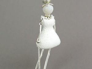 Кукла в бижутерии и в волшебной традиции. Ярмарка Мастеров - ручная работа, handmade.