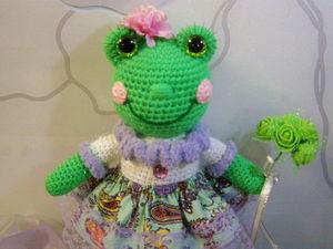 В налиичии остаётся одна Лягушечка Фиона!!! (друзьям). Ярмарка Мастеров - ручная работа, handmade.