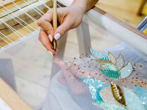 Курс – Погружение «Вышивка Высокой Моды»20-25 июня, 2017 г. | Ярмарка Мастеров - ручная работа, handmade