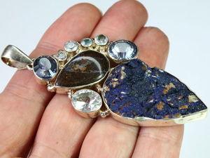 Уважаемые знатоки камней, подскажите, что это за камни? | Ярмарка Мастеров - ручная работа, handmade