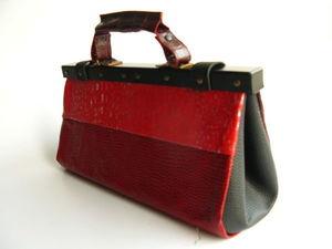 Аукцион на кожаные саквояжи!. Ярмарка Мастеров - ручная работа, handmade.
