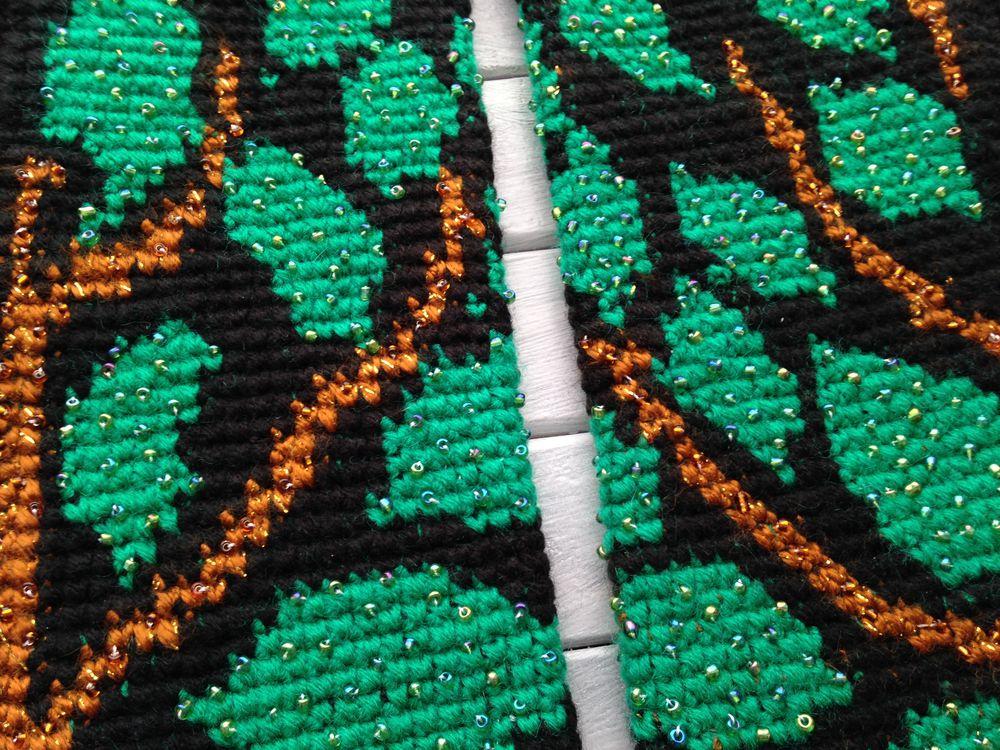 вязание, жаккард крючком