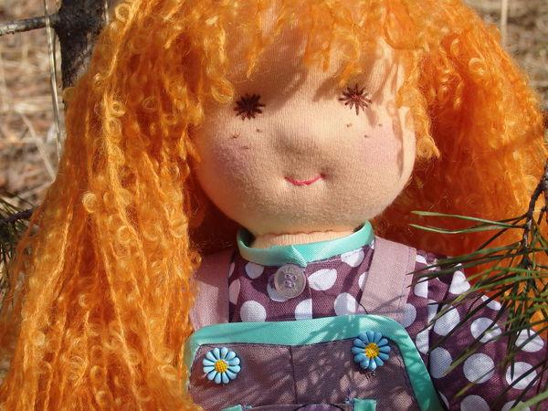 Жила, была девочка, золотистые косы | Ярмарка Мастеров - ручная работа, handmade