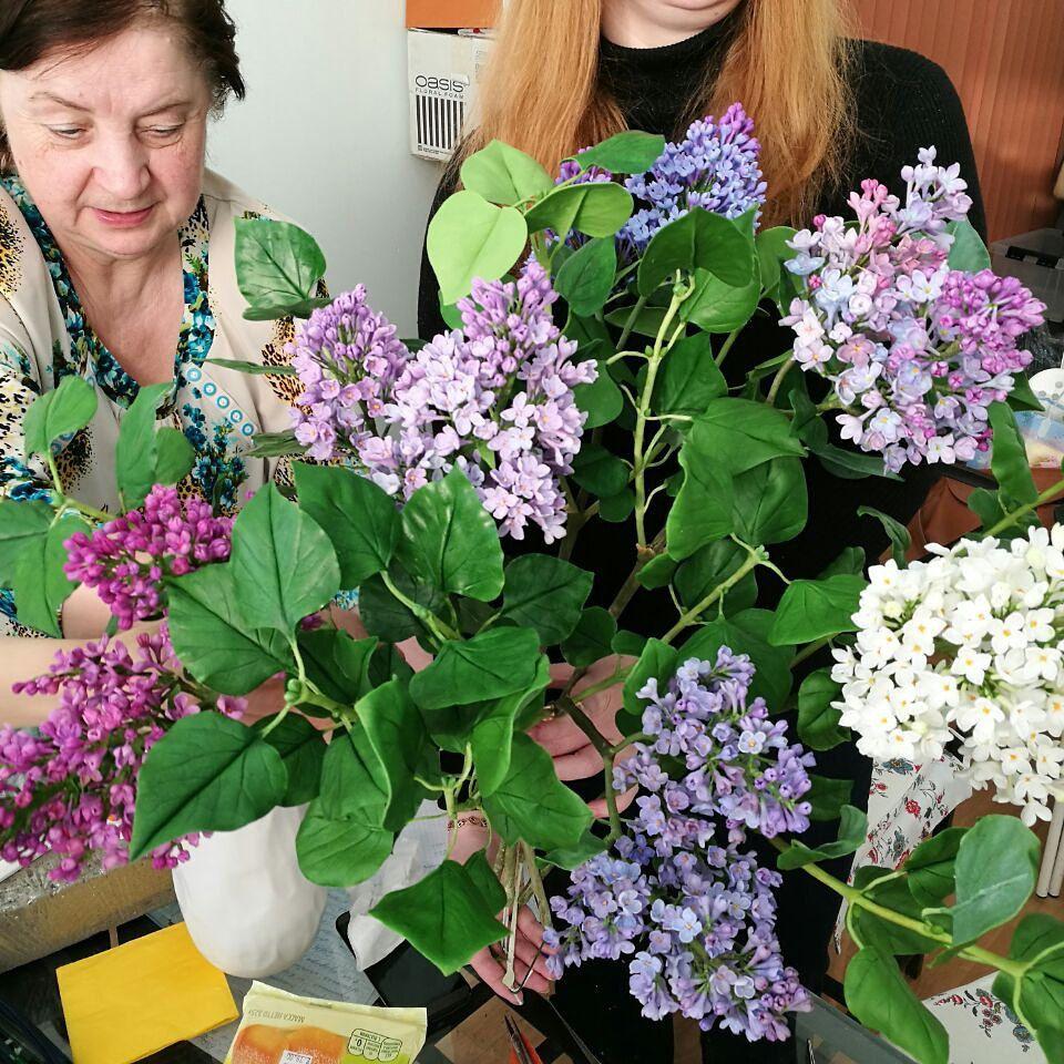 полимерная флористика, цветы из полимерной глины