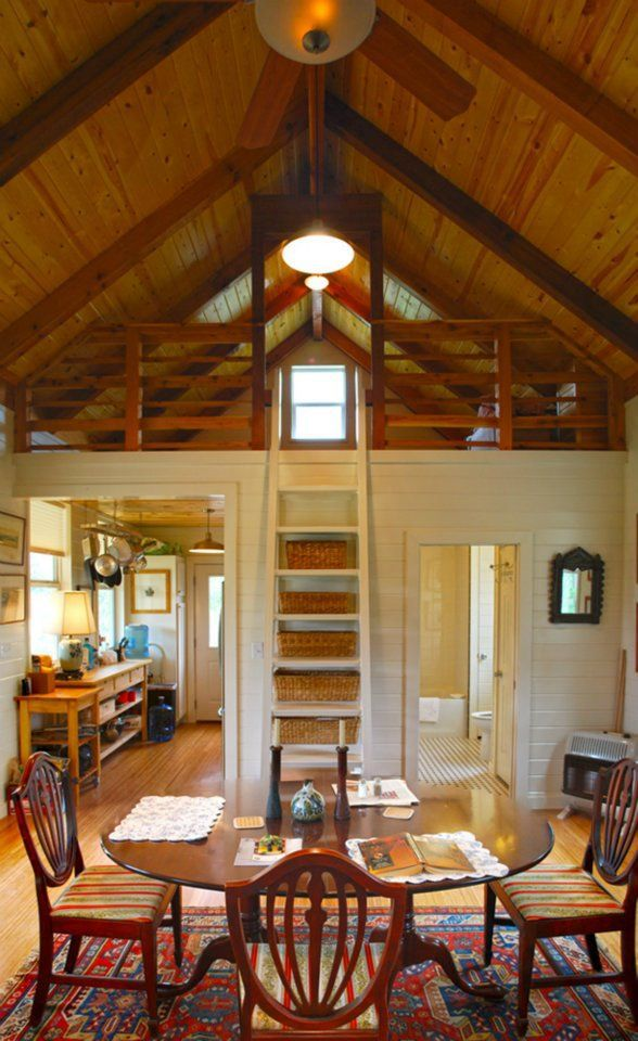 interior of a tiny house.