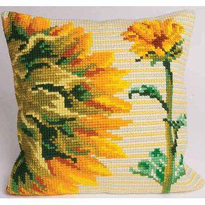 Aube Pillow Cross-Stitch Kit