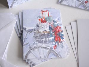 Следующая отправка открыточек в понедельник!. Ярмарка Мастеров - ручная работа, handmade.