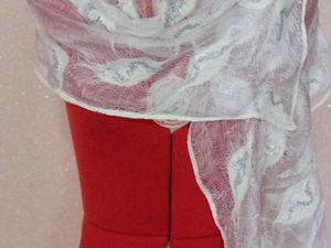 Розыгрыш шарфиков из маргиланского шелка и шерсти. Ярмарка Мастеров - ручная работа, handmade.