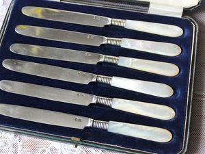 Дополнительные фотографии антикварных ножей. Ярмарка Мастеров - ручная работа, handmade.