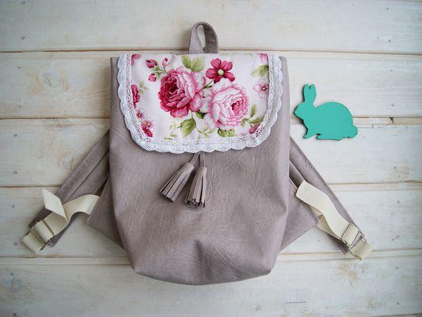 Стильные рюкзаки для детей!   Ярмарка Мастеров - ручная работа, handmade