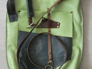 Аукцион с 0 на кожаную весенне-летнюю сумку!. Ярмарка Мастеров - ручная работа, handmade.