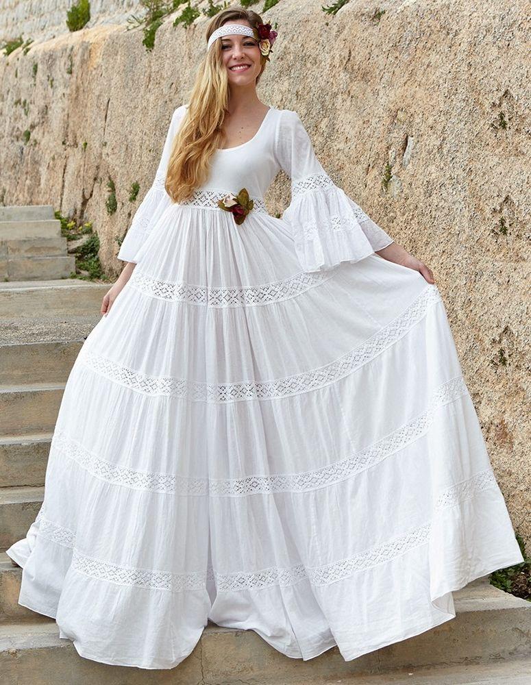 Белое бохо, или Шикарная одежда для королевы летнего пляжа, фото № 79