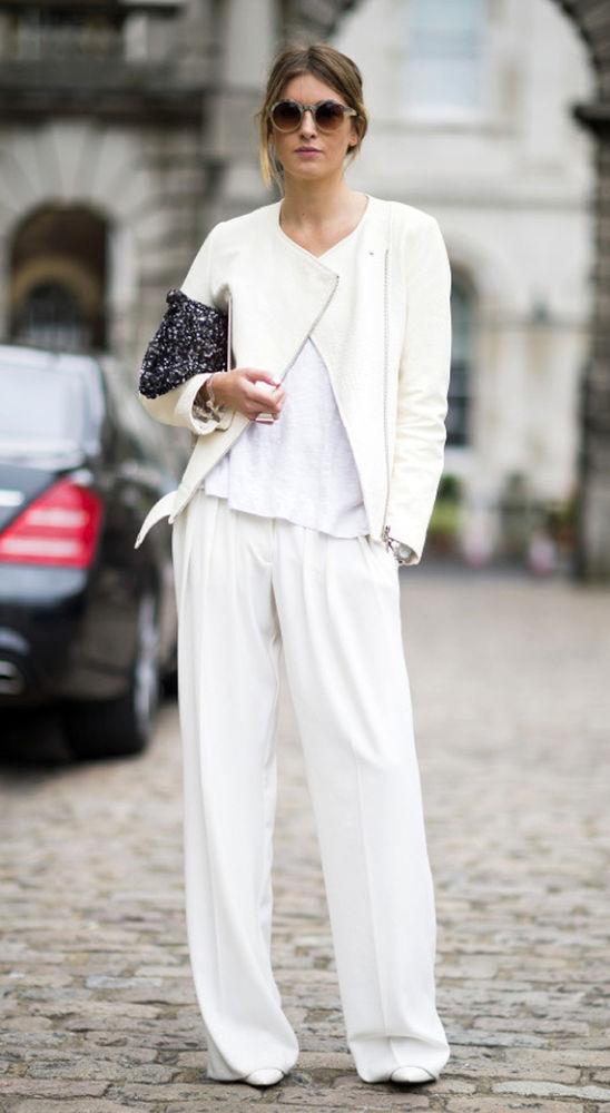 модный образ с брюками