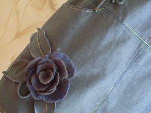 20% скидка на готовый джинсовый сарафан-тунику. Ярмарка Мастеров - ручная работа, handmade.