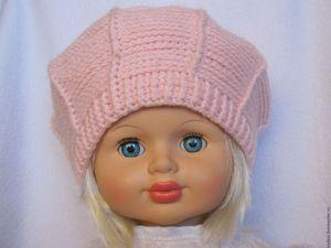 Модели весенних шапок для девочек из коллекции