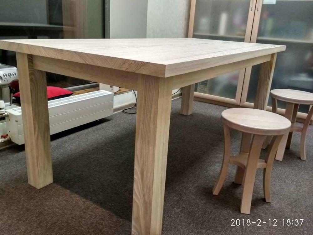стол из массива ясеня, купить мебель в москве, москва стол стоимость, мебель дерево купить
