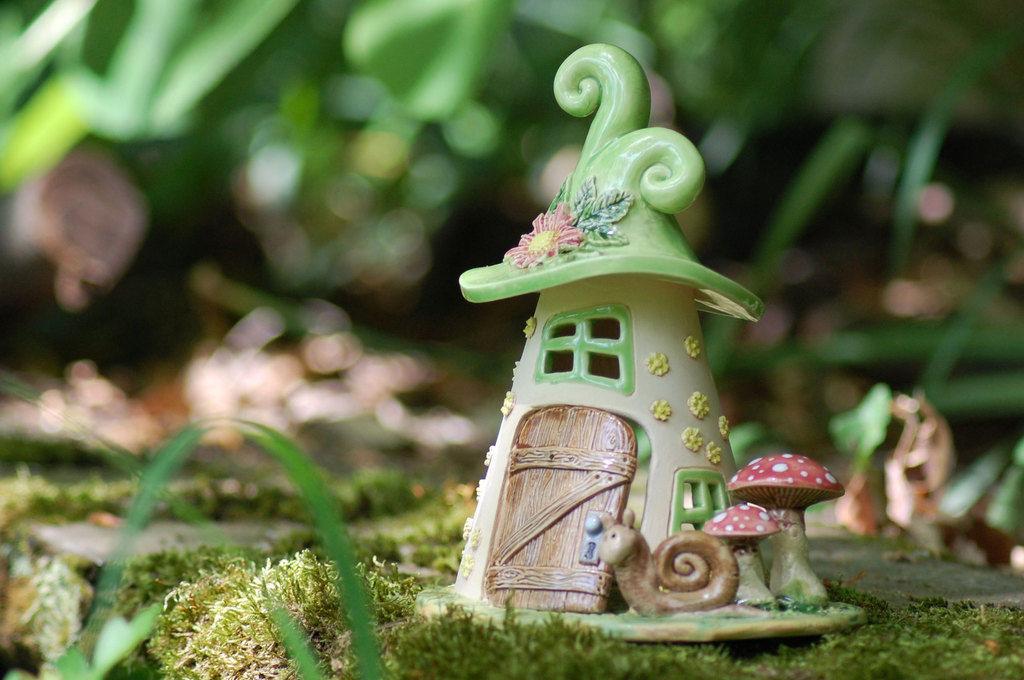 Домики для фей: волшебные керамические подсвечники Antje Rosemann, фото № 5
