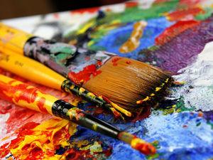 Маленькие хитрости при работе с акриловыми красками | Ярмарка Мастеров - ручная работа, handmade