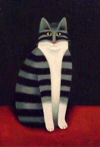 кошки картина