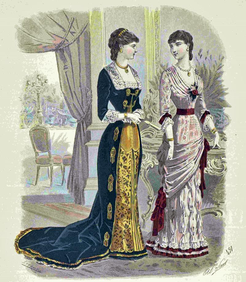 Восхитительная мода конца ХIХ века, фото № 6
