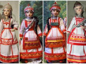 Чувашки — мои куклы, особенности чувашского народного костюма. Ярмарка Мастеров - ручная работа, handmade.