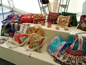 Сумочки участницы лоскутного фестиваля в Суздале. Ярмарка Мастеров - ручная работа, handmade.