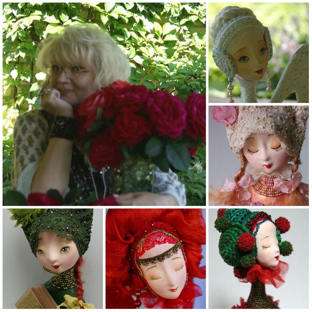 татьяна адаменко, куклы