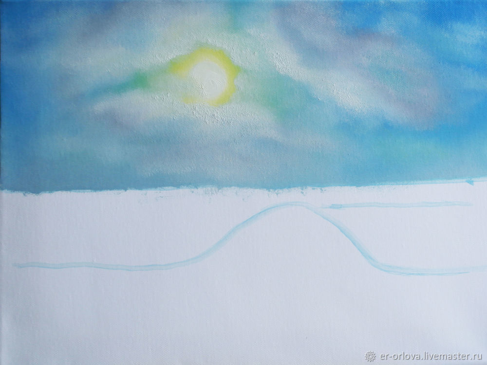 Painting Seascape with Oil Paints, фото № 10