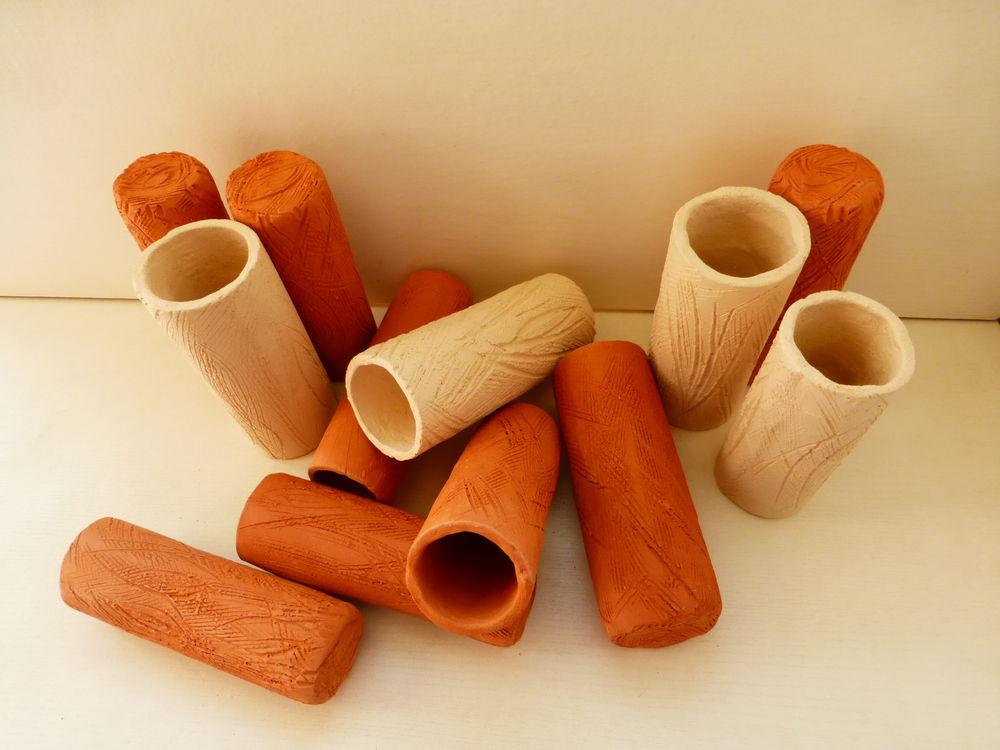 из обожжённой глины, керамический декор