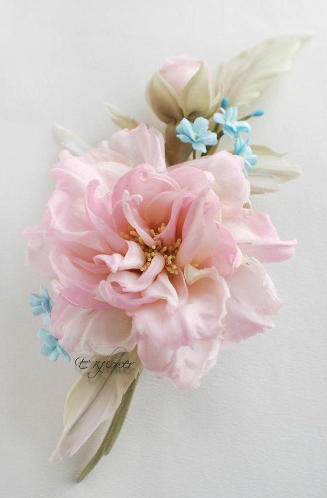 цветы из шелка, шелковые цветы, обучение цветоделию