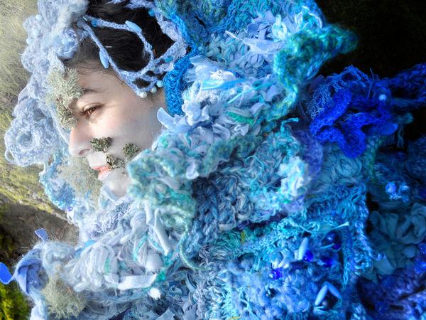 Колдовское вязание фриформ от Mandy Greer | Ярмарка Мастеров - ручная работа, handmade